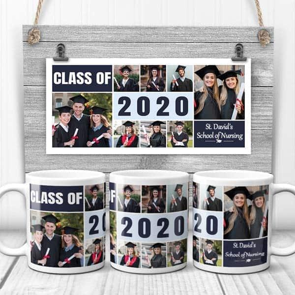 Class of Graduation year Photo Mug