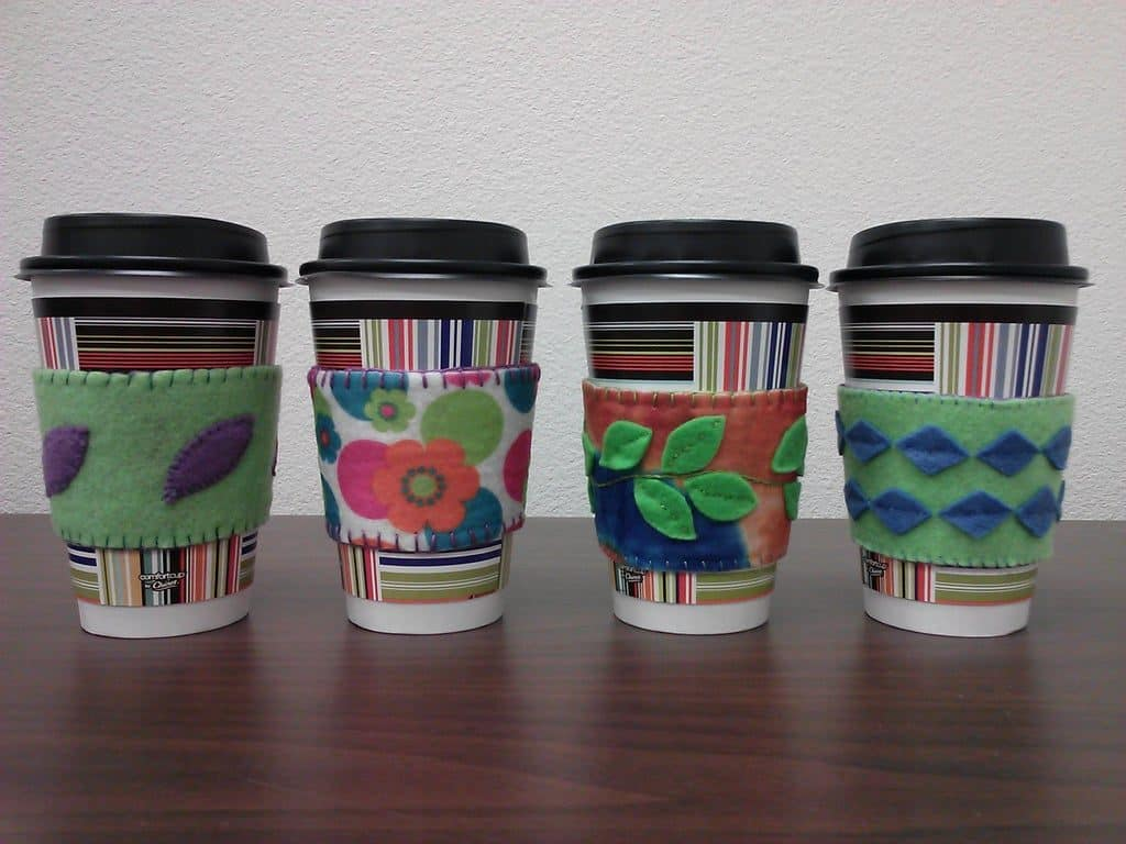 homemade christmas gifts for him: Coffee Cup Cozy