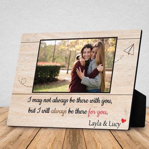 Desktop Photo Plaque - going away gifts