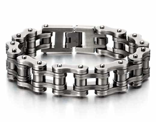 Heavy Sturdy Motorcycle Chain Bike Chain Bracelet For Men