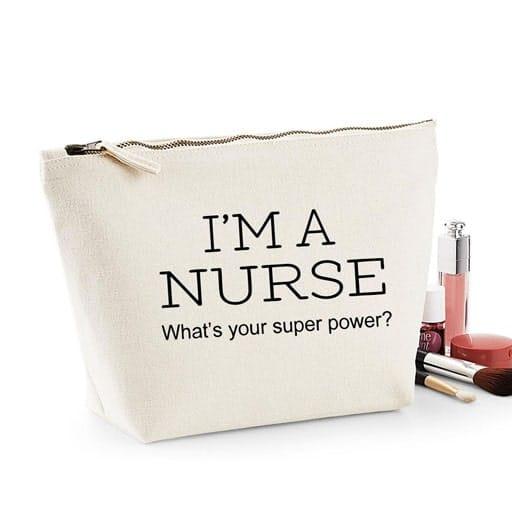 gifts for new nurse - I'm A Nurse Makeup Bag