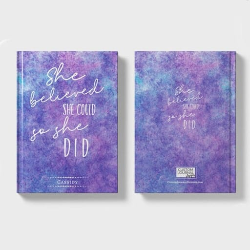Inspirational Positive Quote Journal - graduation gifts for college