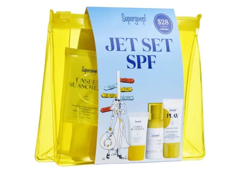 birthday makeup ideas: Jet Set SPF Travel Kit
