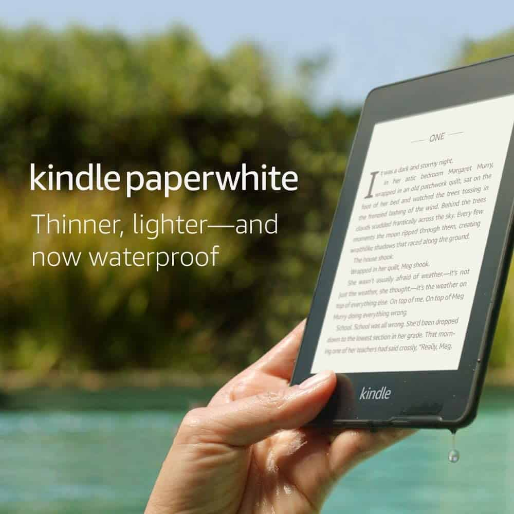 Kindle Paperwhite - tech gifts for men