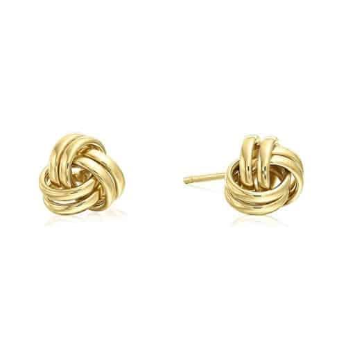 Love Knot Earrings - things your girlfriend loves