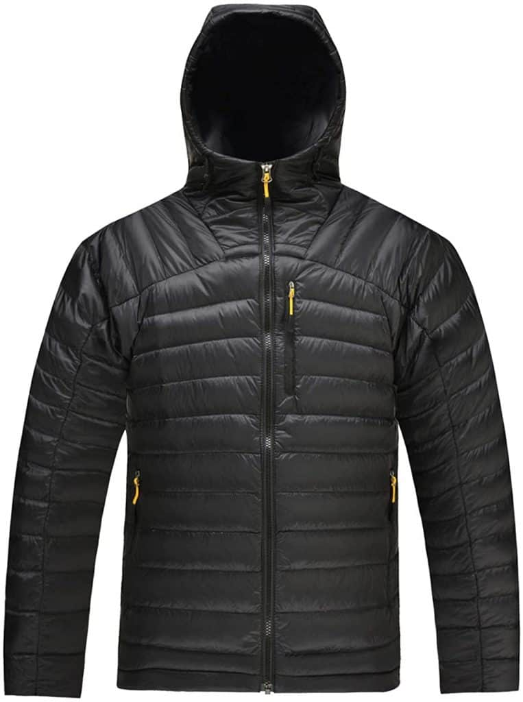 heated jacket amazon: Men's Packable Down Jacket