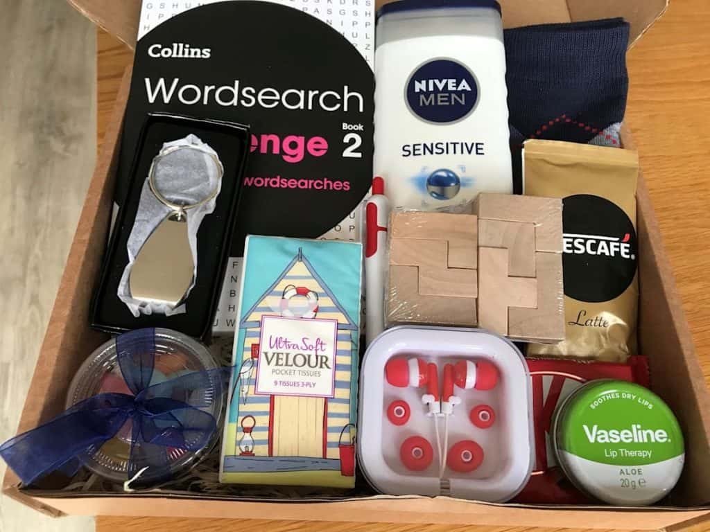long distance relationships gifts for boyfriend: Mens Treat Gift Box