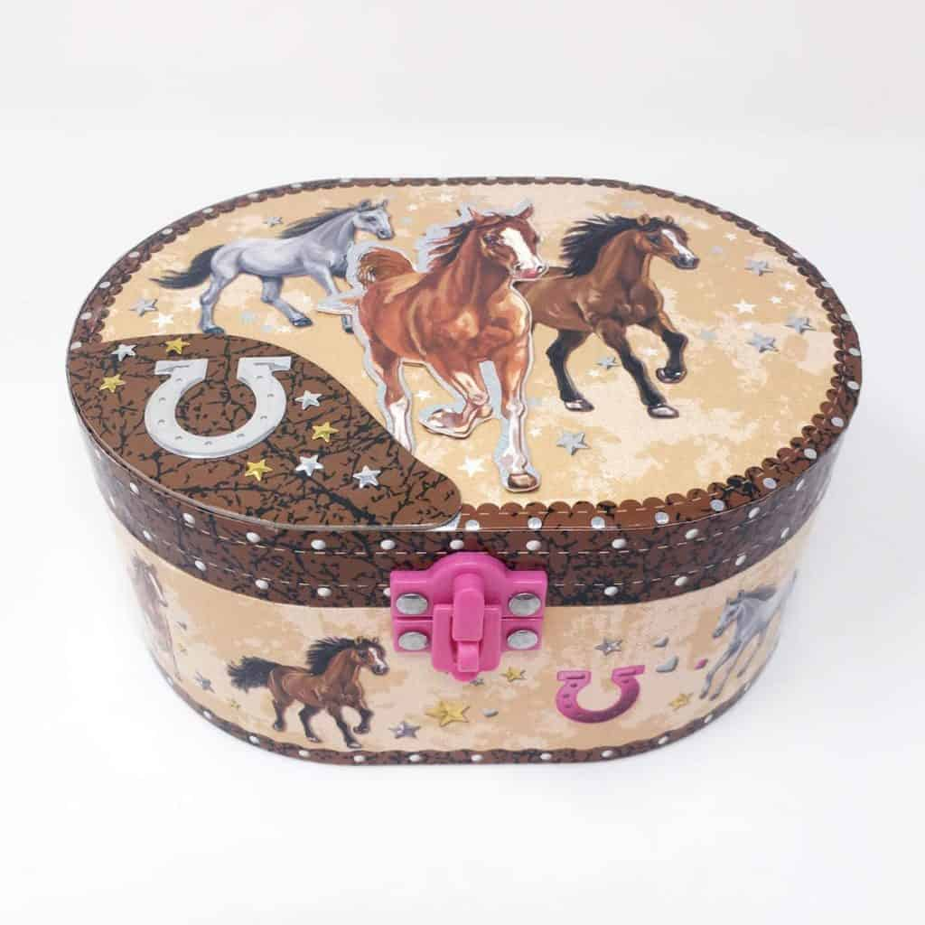 Musical Jewelry Box - gifts for horse lovers