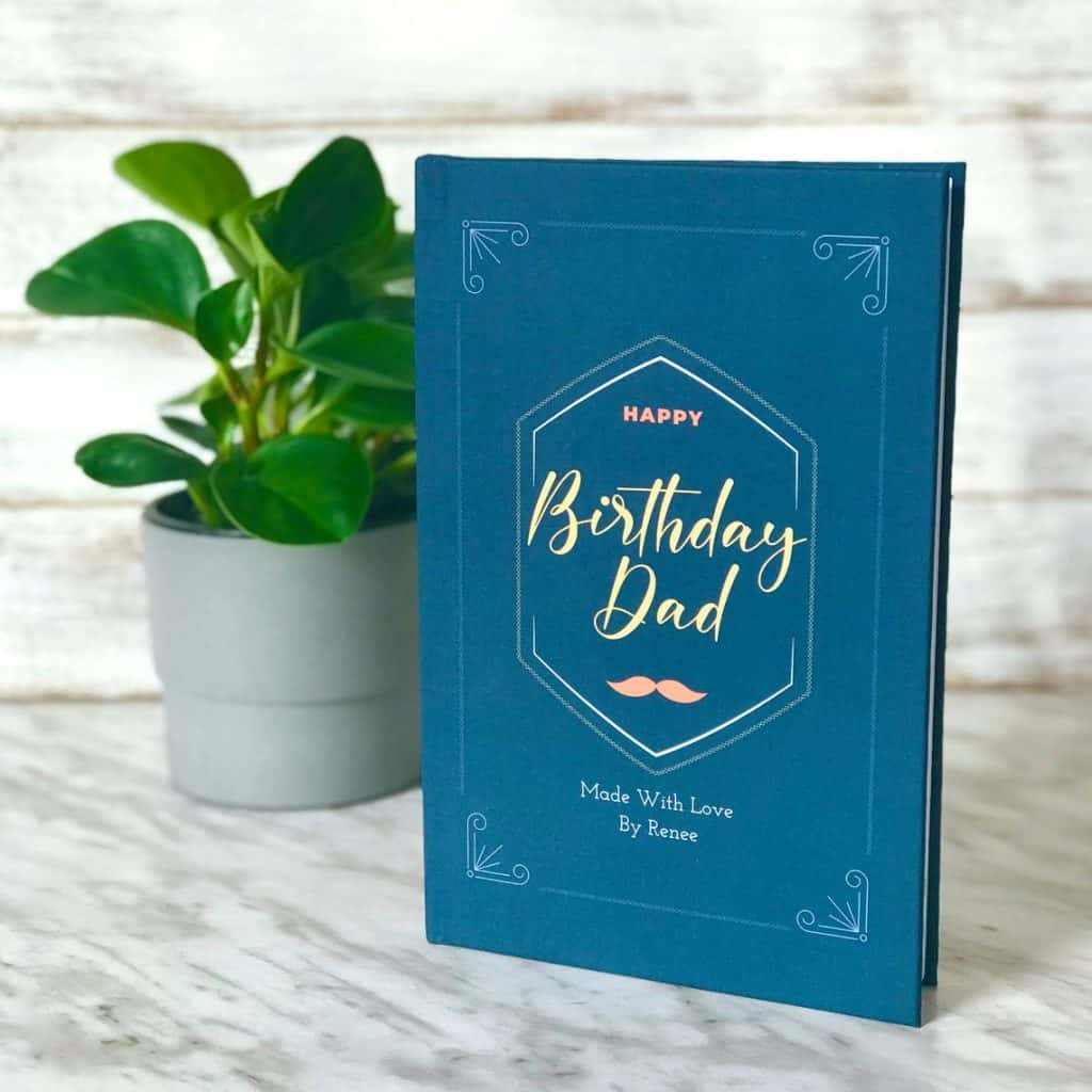 Personalized Book For Dad Birthday
