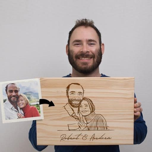 Custom Cutting Board - housewarming gift for sister in law
