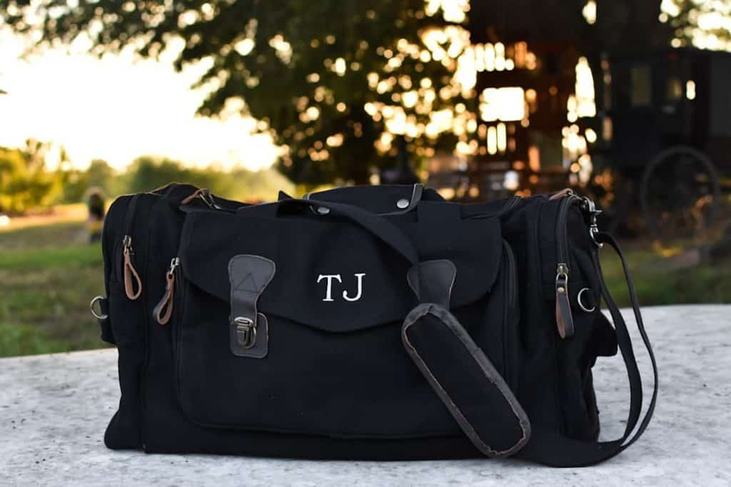 Personalized Mens Weekender Bag