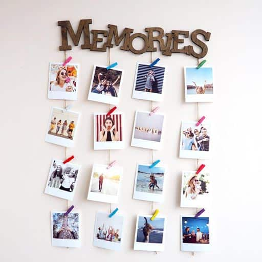 Photo Board - moving gift