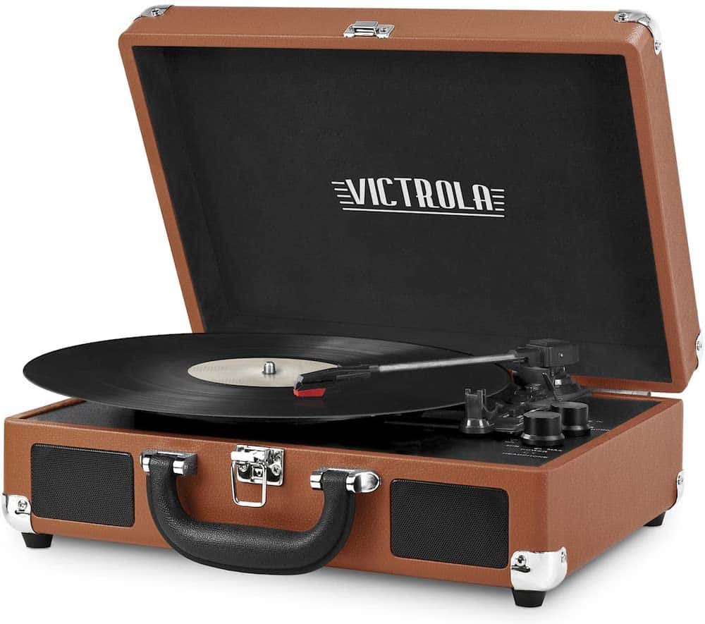 Record Player With Bluetooth Speakers