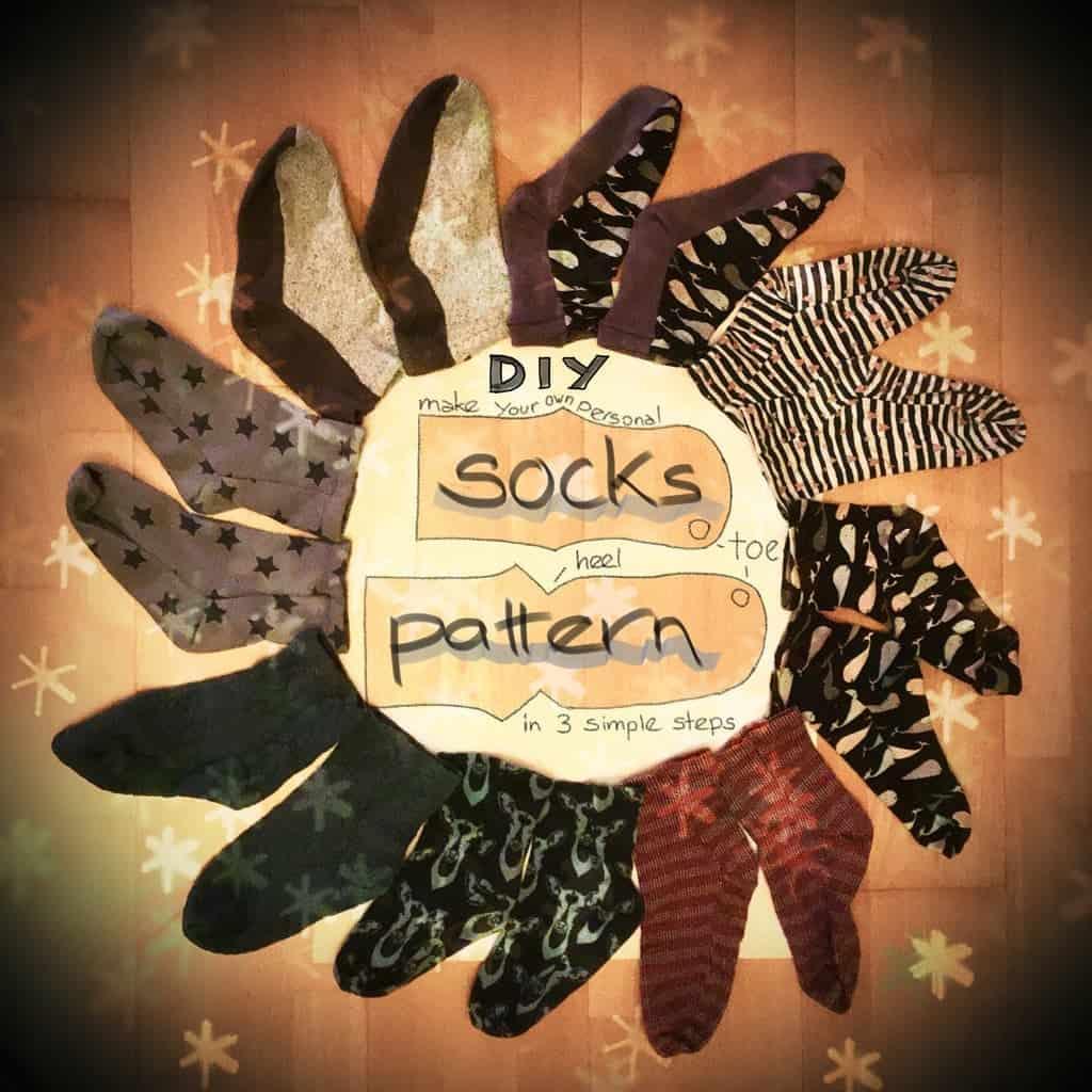 Sock Pattern (for Sewing Socks)