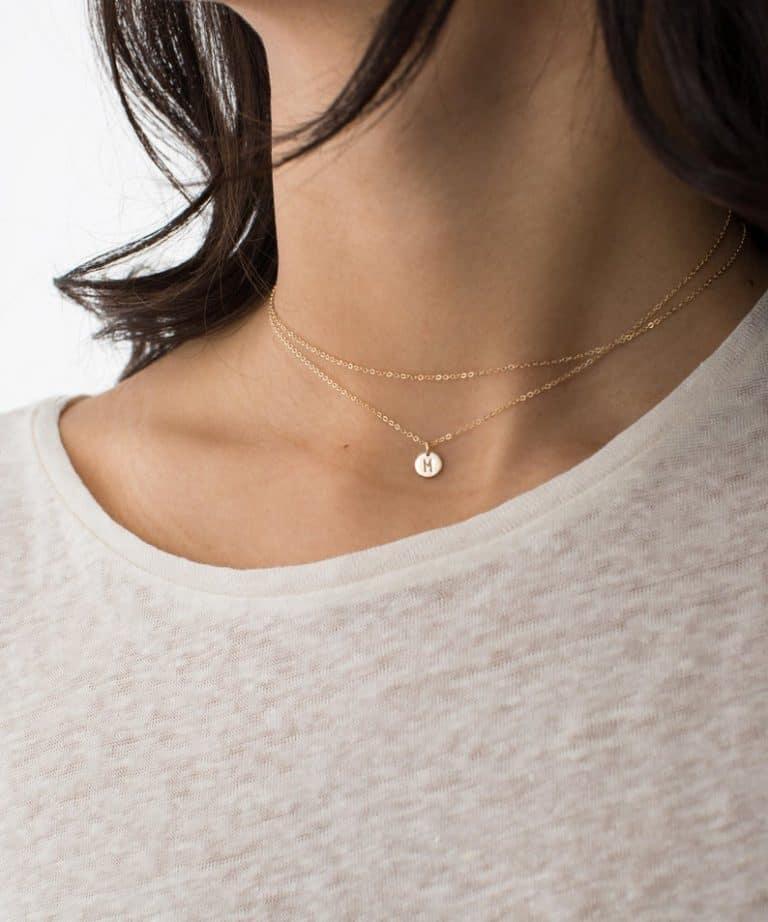 Dainty Wrap Necklace