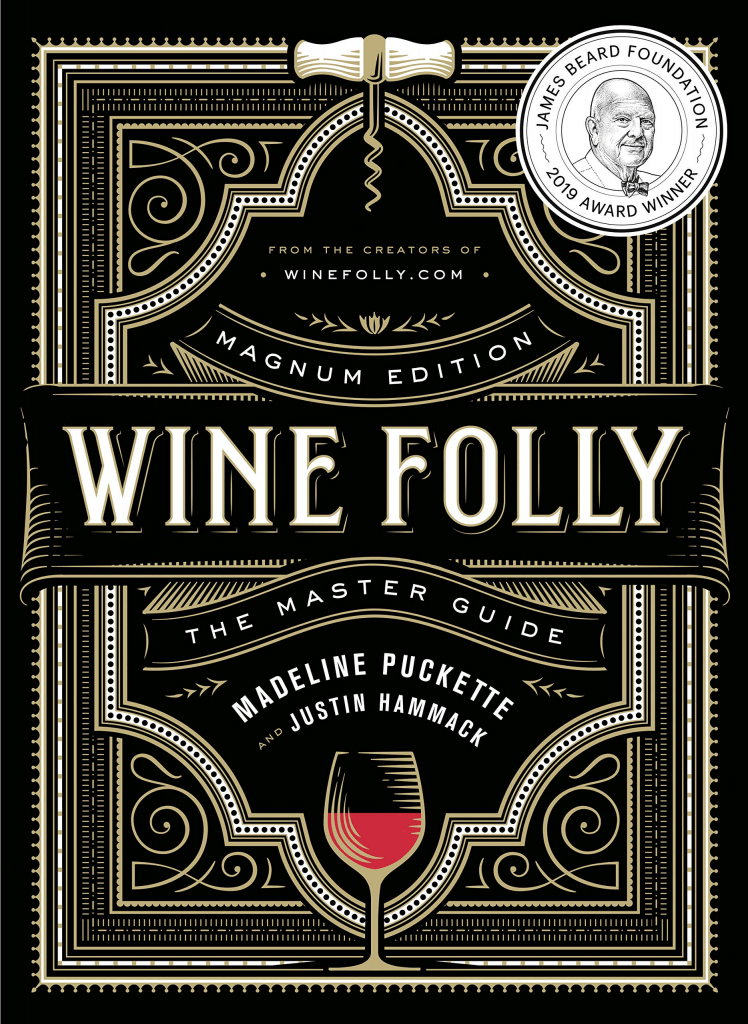 wine lover gifts: wine folly guide book