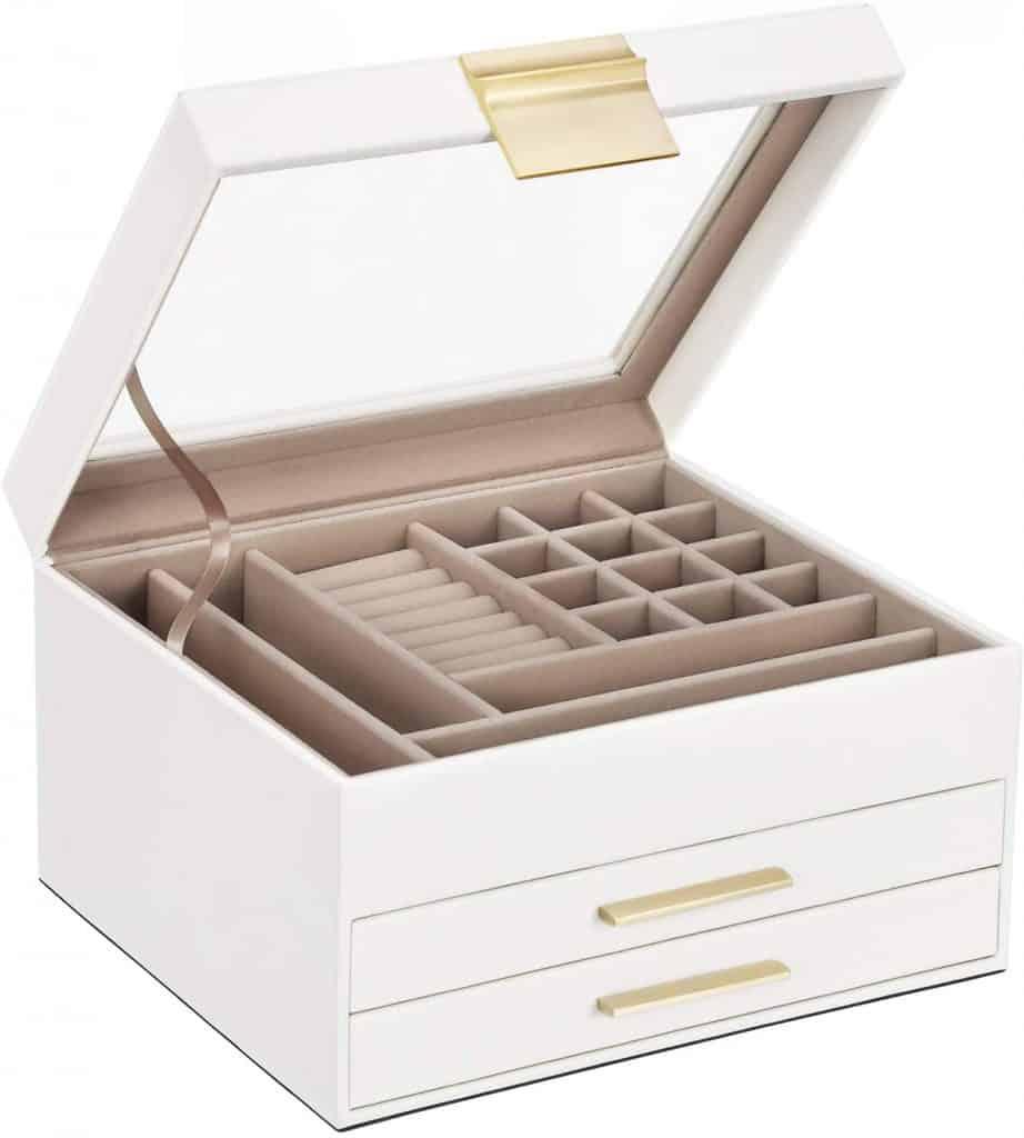wife christmas gift ideas: jewelry box