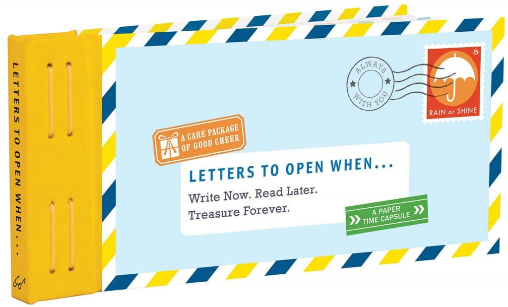long distance valentines gifts: letters to open when