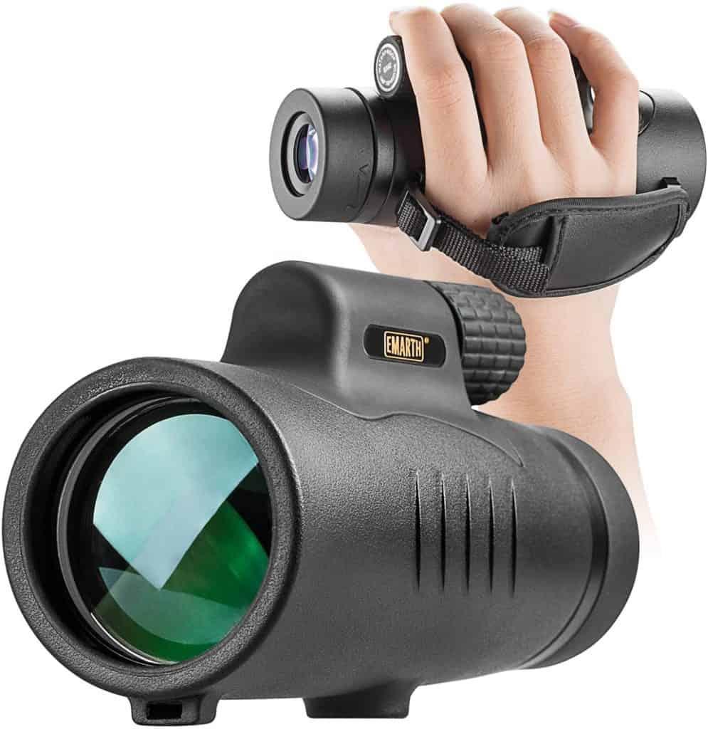 hunting gadget: monocular telescope