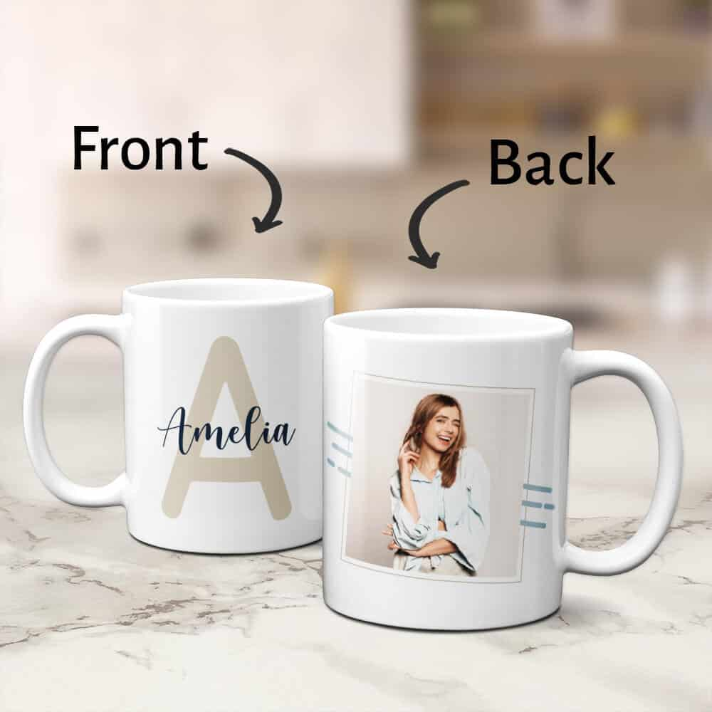 monogrammed coffee mug gift for daughter in law