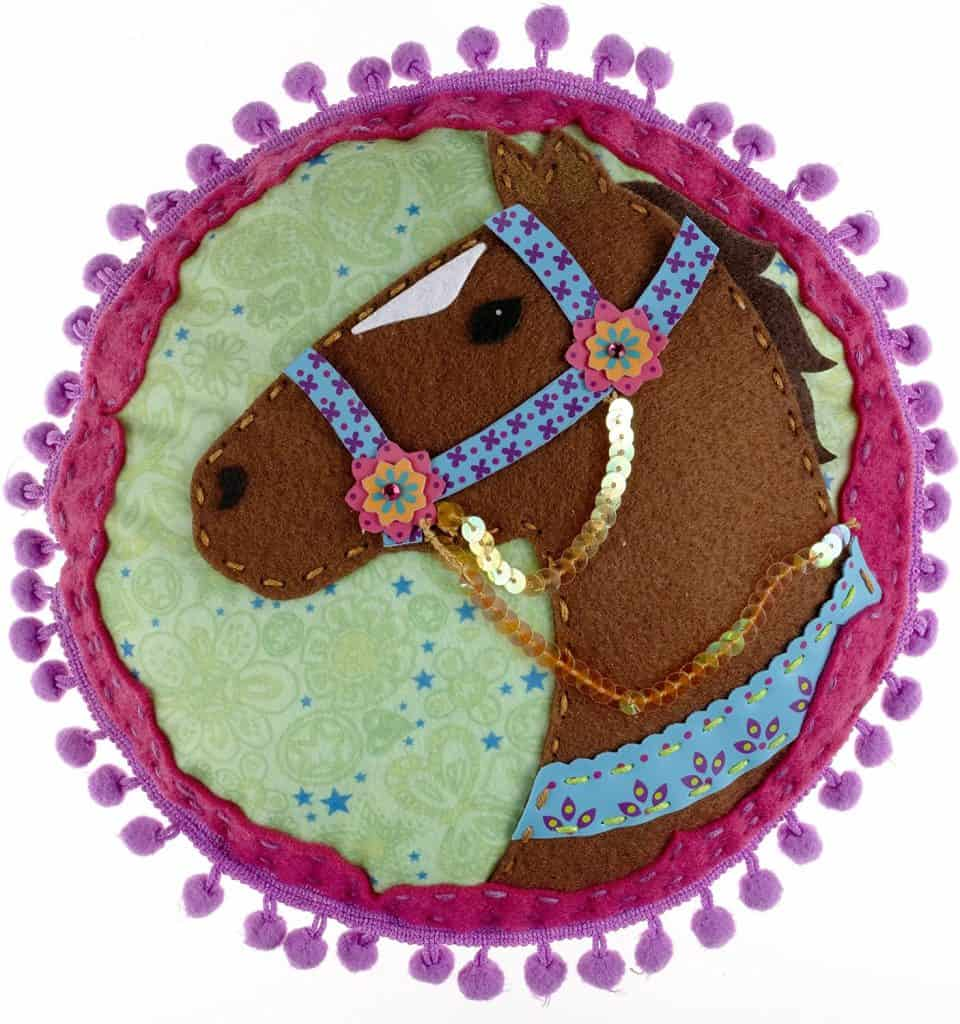 pillow - gifts for horse lovers