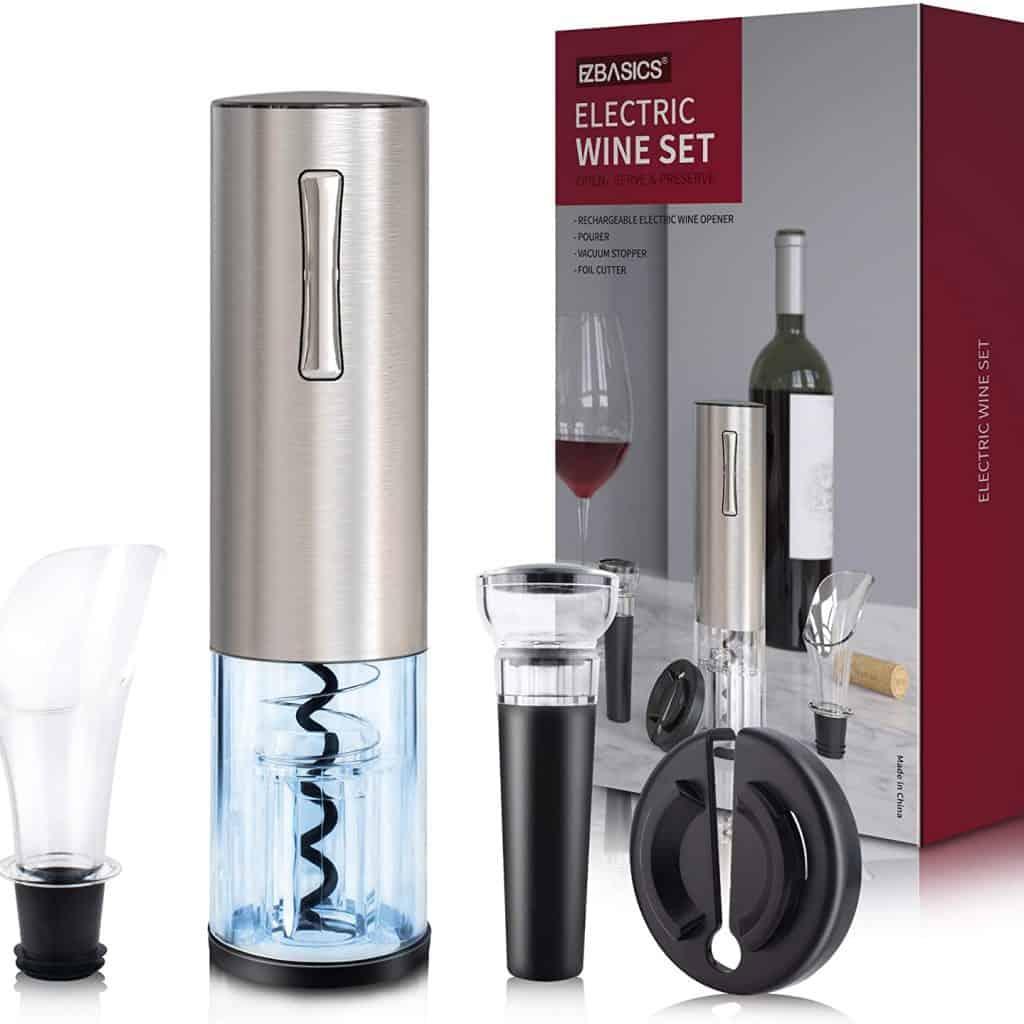 wine accessories gifts: wine bottle opener kit