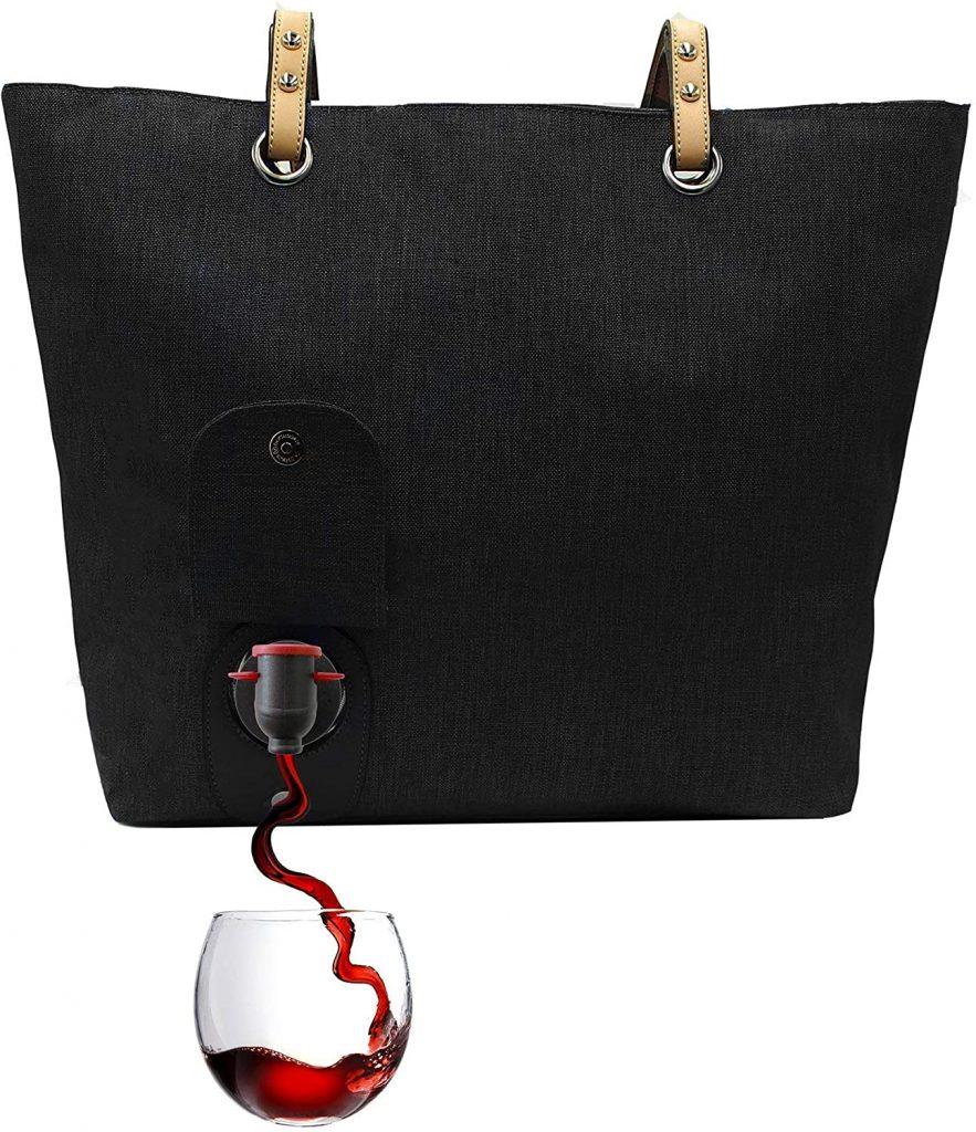 wine gift ideas: wine tote