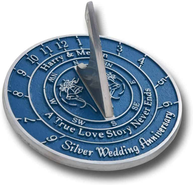 The Metal Foundry Personalised 25th Silver Wedding Anniversary