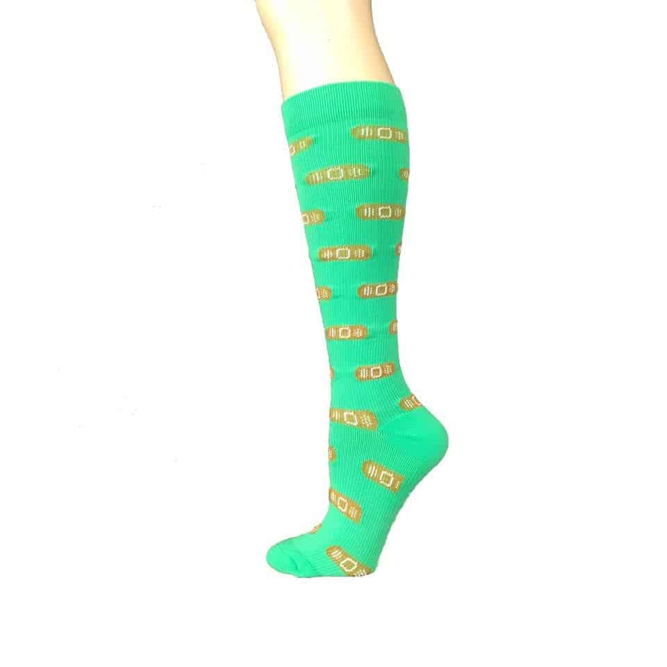 Band Aid Compression Socks - medical residency graduation gifts