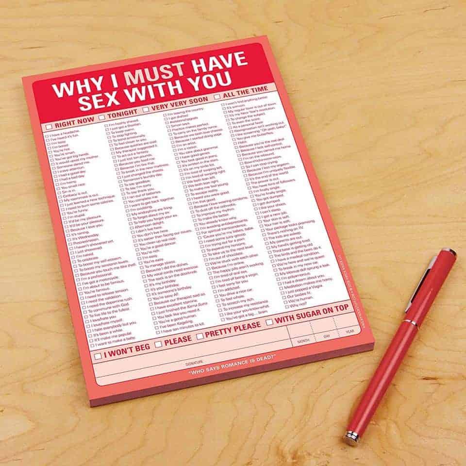 Checklist Note Pad
