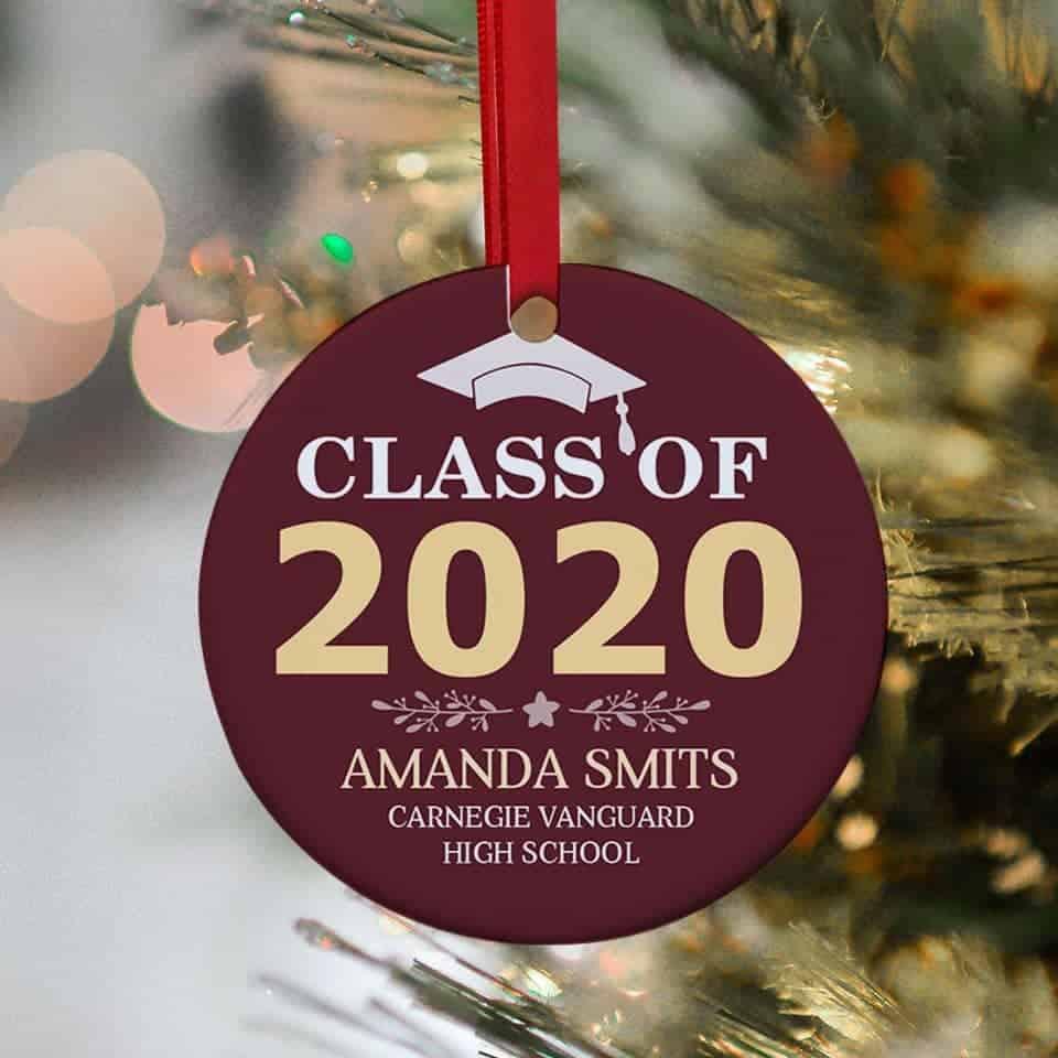 Custom Year Graduation Ornament - unique graduation gifts