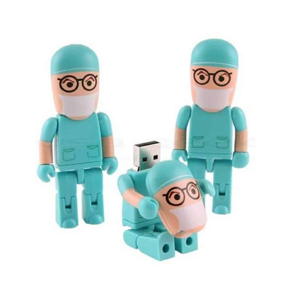 Doctor-Shaped Flash Drive - graduation gifts for medical students