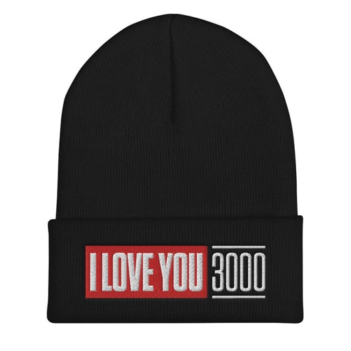 I Love You 3000 Beanie - cheap valentines day gift