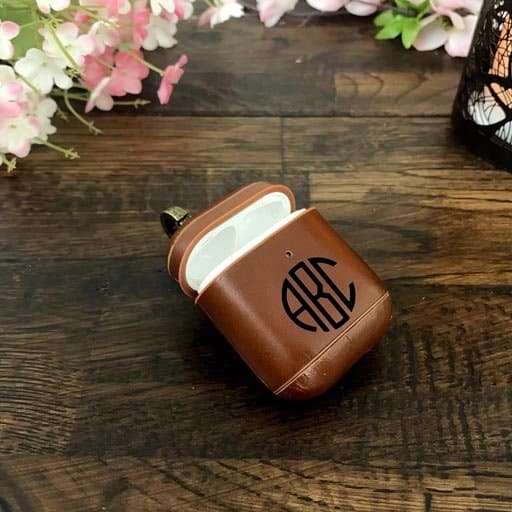 Leather Airpod Case - non cheesy valentines day gifts for him