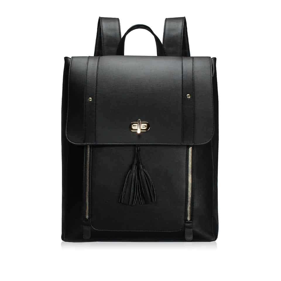 Leather Backpack - girl's graduation gift ideas
