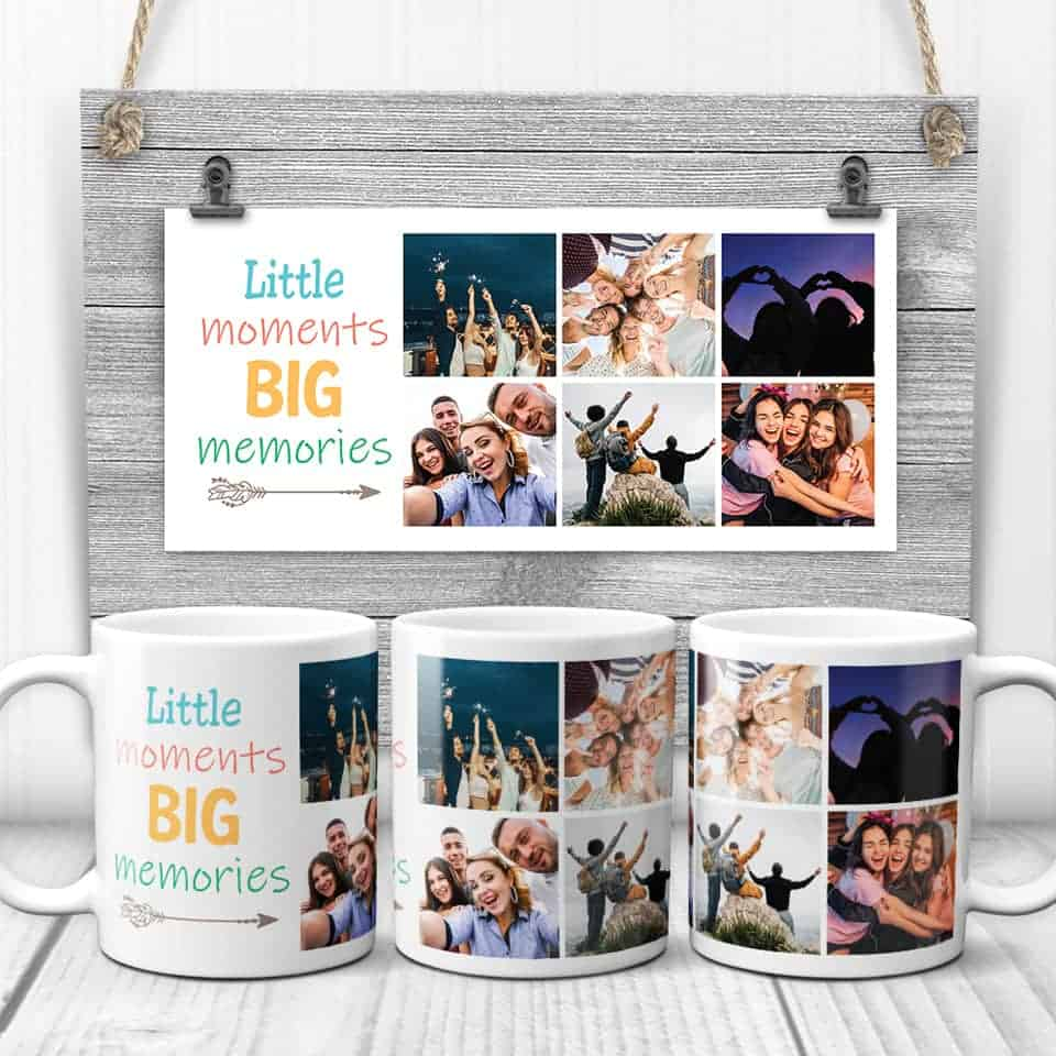 grad gifts for her - Little Moments Big Memories Photo Mug