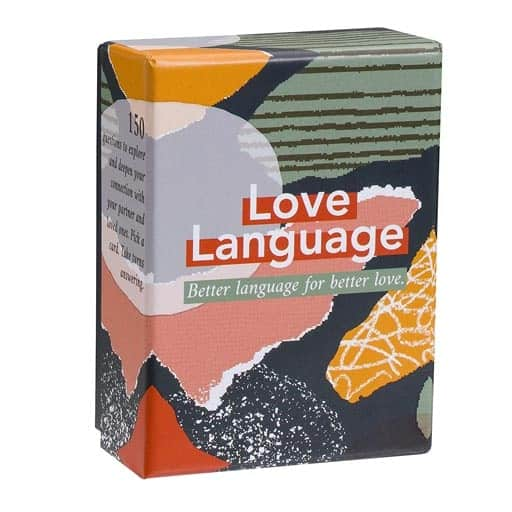 Love Language Card Game - non cheesy valentines day gifts for him