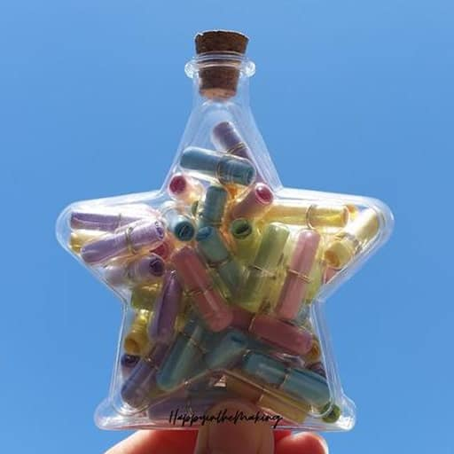 Message in Star Bottle - non cheesy valentines day gifts for him