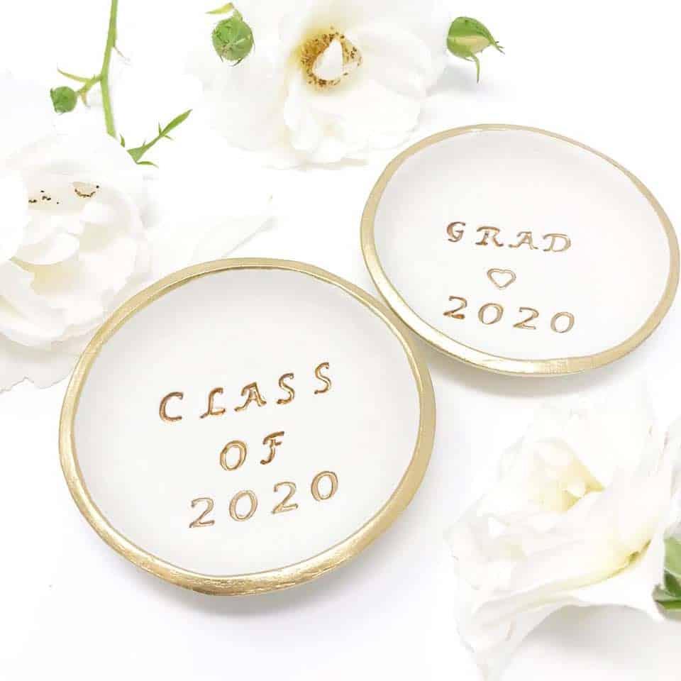 Personalized Jewelry Dish - women graduation gifts