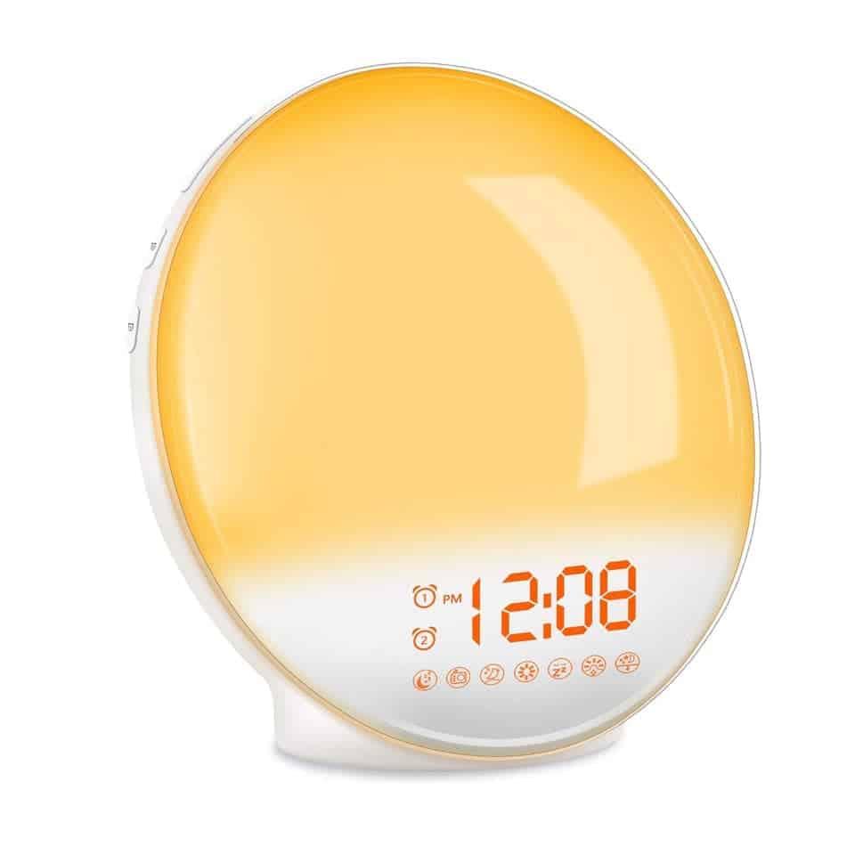 Wake-Up Light Alarm Clock - women graduation gifts