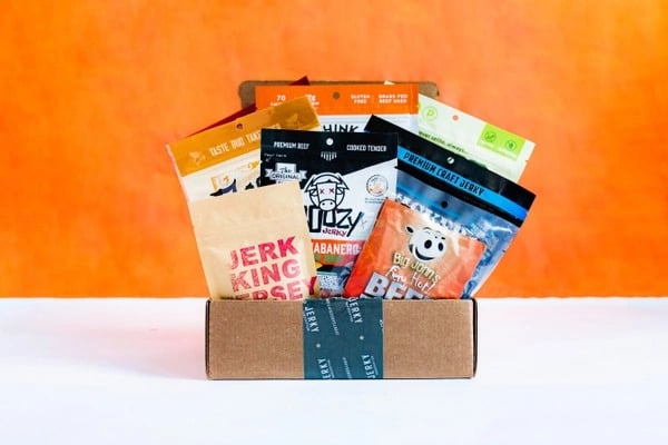 jerky subscription from cratejoy
