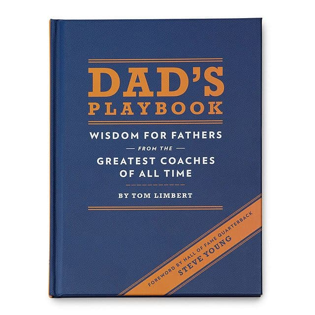 valentine gift for new dad: dad's playbook