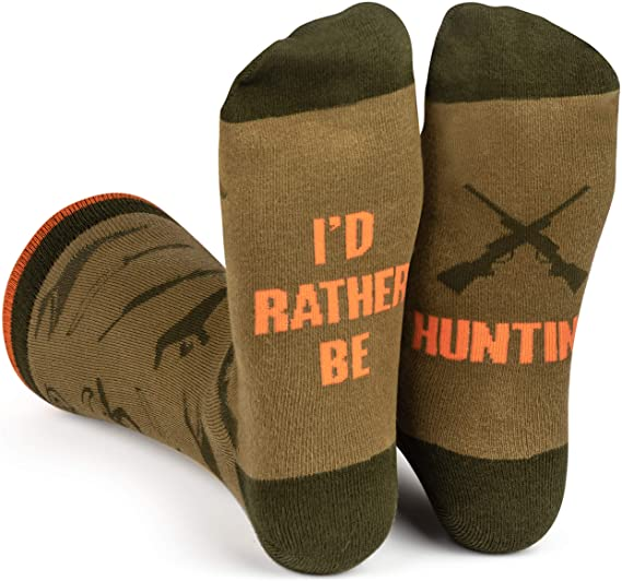 funny dad gift ideas: i'd rather be socks