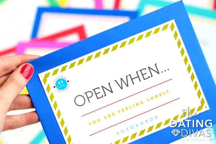 creative valentine's day gifts for him: open when letters