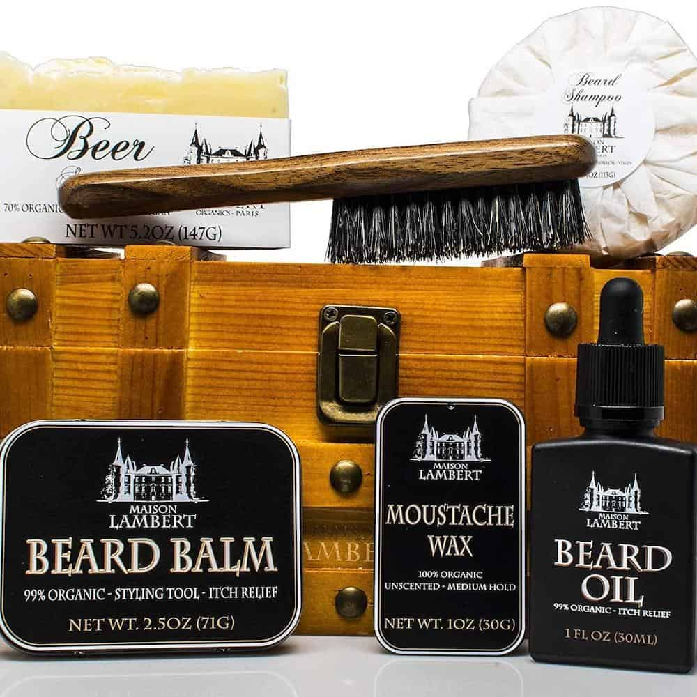 a beard kit - dad gift on any occasion