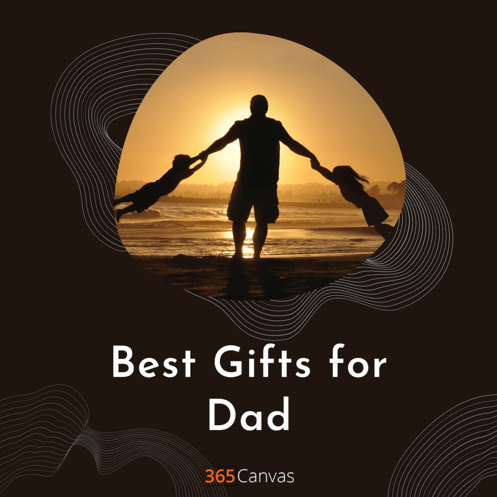cover image with the title best gift for dad
