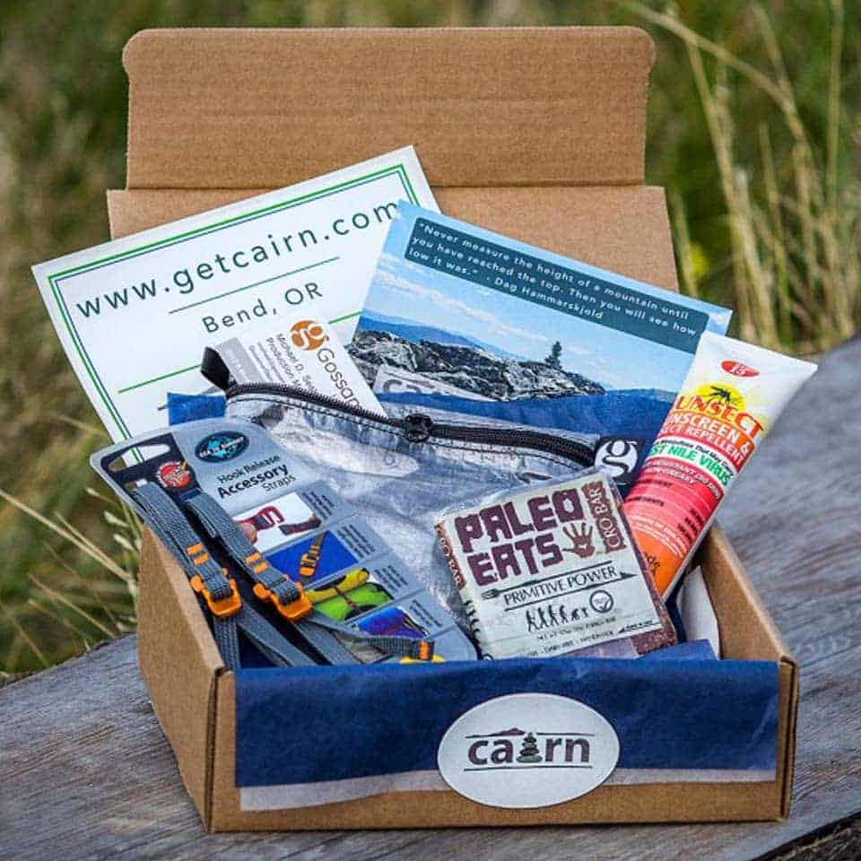 Cairn Outdoor Gear Subscription Box - gift for new boyfriend