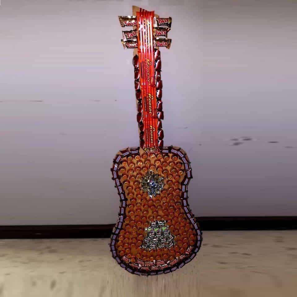 DIY Candy Guitar