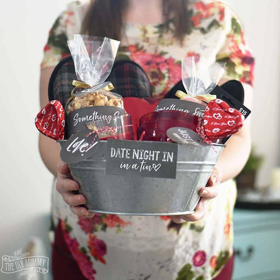 Date Night In Gift Basket