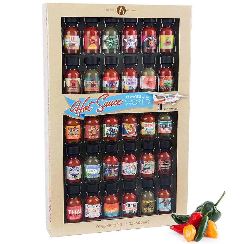 Flavors of the World Hot Sauce Gift Set